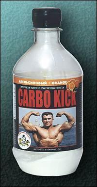 Cпортивное питание: CARBO KICK (лимонный) СуперСет.