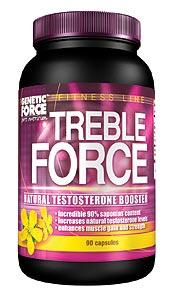 Cпортивное питание: Treble Force (Tribulus  500 mg) Genetic Force.