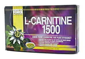 Cпортивное питание: L-Carnitine 1500 mg Liquid Genetic Force.