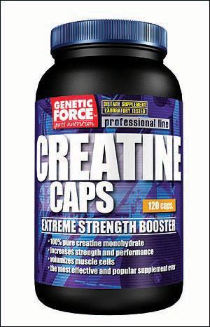Cпортивное питание: Creatine caps Genetic Force.