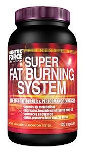 Cпортивное питание: Super Fat Burner System Genetic Force.