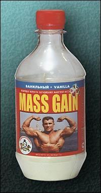Cпортивное питание: MASS GAIN (шоколадный) СуперСет.