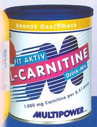 Cпортивное питание: Fit Aktiv L-Carnitine Multipower.