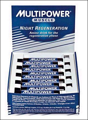Cпортивное питание: Night Regeneration Multipower.