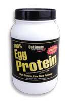 Cпортивное питание: 100% Egg Protein Optimum Nutrition.