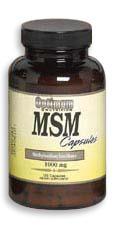 Cпортивное питание: MSM 1000 mg Caps Optimum Nutrition.