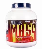 Cпортивное питание: Serious Mass Optimum Nutrition.