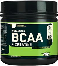Cпортивное питание: BCAA + Creatine Optimum Nutrition.