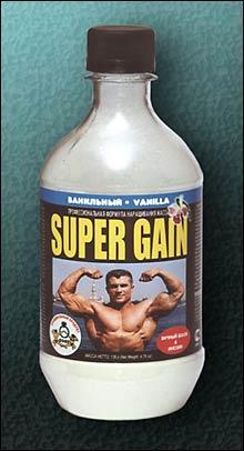 Cпортивное питание: SUPER GAIN (шоколадный) СуперСет.
