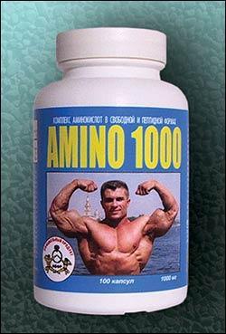 Cпортивное питание: Amino 1000 СуперСет.