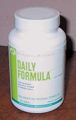Cпортивное питание: Daily Formula Universal.