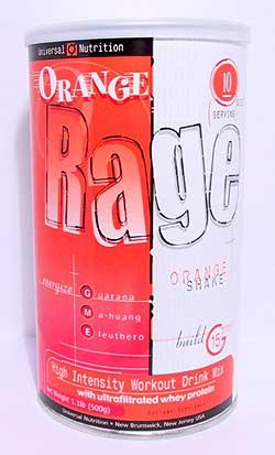 Cпортивное питание: Rage GME Universal.