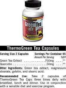 Cпортивное питание: Thermo Green Tea Universal.