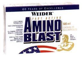 Cпортивное питание: Amino Blast Weider.