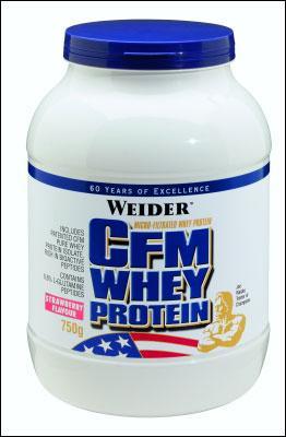 Cпортивное питание: CFM Whey Protein Weider.
