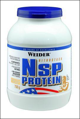 Cпортивное питание: NSP - Nitrostack Protein Weider.