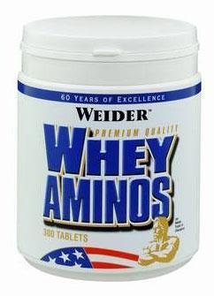 Cпортивное питание: Whey Aminos Weider.
